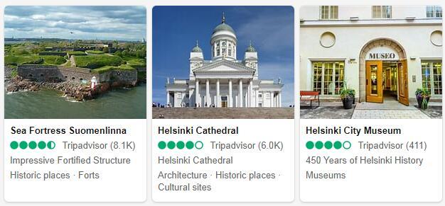 Helsinki Attractions 2