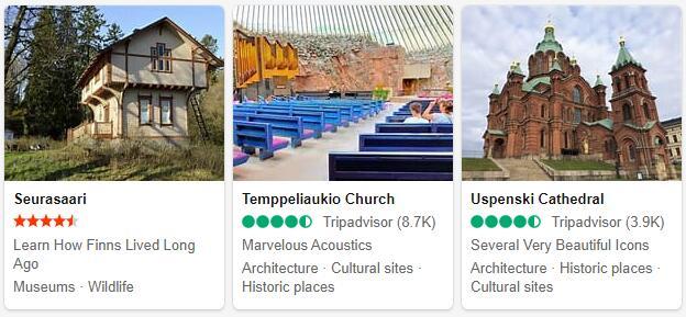 Helsinki Attractions