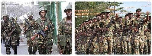 Comoros Army