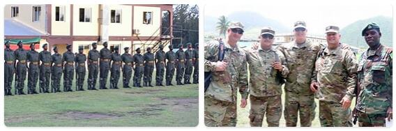 Saint Kitts and Nevis Army