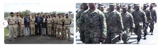 Saint Lucia Army