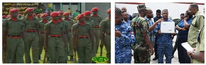 Saint Vincent and The Grenadines Army