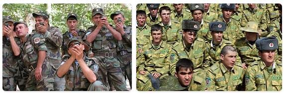 Tajikistan Army