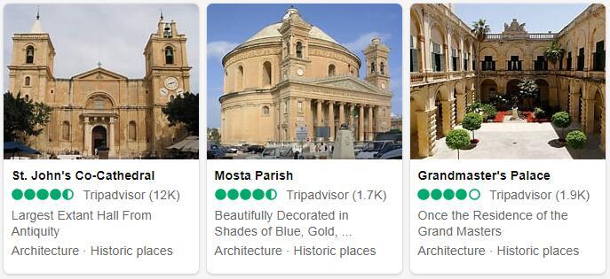 Malta Top Sights