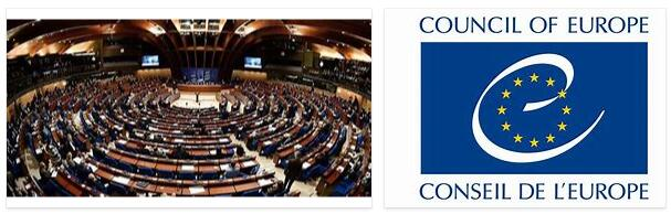 Council of Europe History